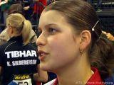 Petrissa Solja im Interview bei der Tischtennis deutsche Meisterschaft 2010