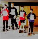 Die Sieger der Schüler B beim 2. Kreisranglistenturnier der Jugend in der Saison 2001/2002 in Ebern.