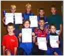 Die Sieger der Schüler B bei den Kreismeisterschaften der Jugend in der Saison 2002/2003 in Haßfurt.