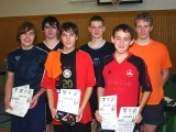 Die Sieger der Jungen bei den Kreismeisterschaften der Jugend in der Saison 2008/2009 in Ebern.