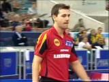 Timo Boll bei den Tischtennis-Europameisterschaften in St. Petersburg