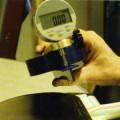 Messgerät für die Belagstärke eines Tischtennisbelags