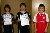 Die Sieger der Schüler B beim 2. Kreisranglistenturnier der Jugend in der Saison 2008/2009 in Bundorf.