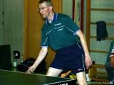 Jürgen Moritz erwartet cool den Ball.
