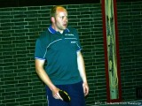 Markus Dürr wartet auf den Ball.