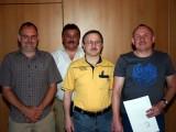 Geehrte Fachwarte und Abteilungsleiter 2009
