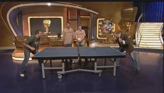 Kopftischtennis - Elton vs. Stefan Raab