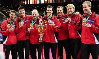 Tischtennis Europameister Herren-Mannschaft 2009