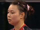 Wu Jiaduo bei der Tischtennis EM 2009 in Stuttgart