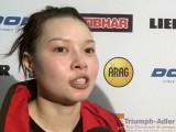 Wu Jiaduo im Interview bei der Tischtennis EM 2009 in Stuttgart