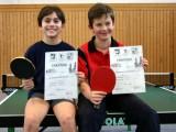 Die Sieger der Jungen beim 1. Kreisranglistenturnier der Schüler B in der Saison 2009/2010 in Ebern.