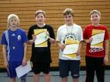 Die Sieger der Minimeisterschaften der Jungen Altersklasse 1997/1998 in der Saison 2009/2010 in Haßfurt.