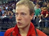 Patrick Baum im Interview bei der Tischtennis deutsche Meisterschaft 2010