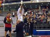 Siegerehrung Herren-Einzel Tischtennis deutsche Meisterschaft 2010