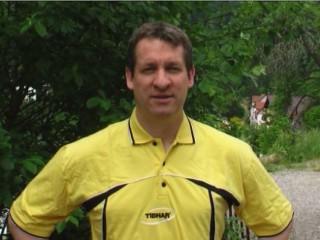 Tischtennis-Lehrer Thomas Dick