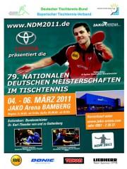79. Nationale deutsche Meisterschaften im Tischtennis
