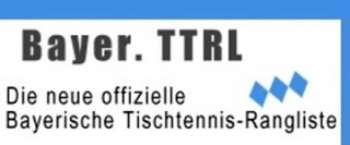 Bayerische Tischtennis-Rangliste - TTRL