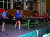 Doppel-Partner bei Tischtennisshow in Hassfurt