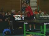 Milan Orlowsky bedankt sich bei Schiedsrichter