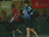 Jindrich Pansky und Milan Orlowsky verlassen unter Beifall die Arena