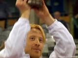 Christian Süß bei der Siegerehrung Tischtennis deutsche Meisterschaft 2010