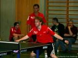 Christoph Wacker und Uwe Geheeb zusammen im Doppel - Christoph braucht enorm viel Platz!