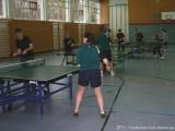 Teilnehmer beim Balleimertraining