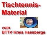 Tischtennis-Material