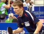Werner Schlager bei den Tischtennis-Europameisterschaften in St. Petersburg