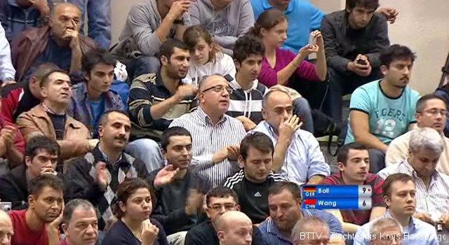 Zuschauer in Istanbul