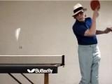 Tischtennis Marlboro-Massaker mit Marty Reisman