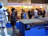 Tischtennis-Roboter schlägt zurück